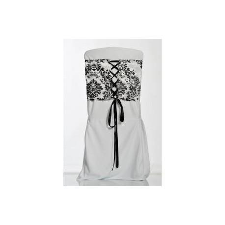 Location corset baroque de chaise