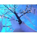 Location arbre à leds enneigé