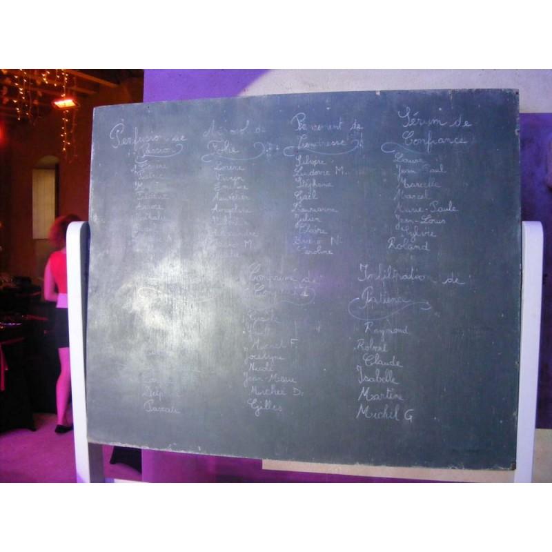Grand Tableau Ardoise : location grand tableau d 39 cole ~ Teatrodelosmanantiales.com Idées de Décoration