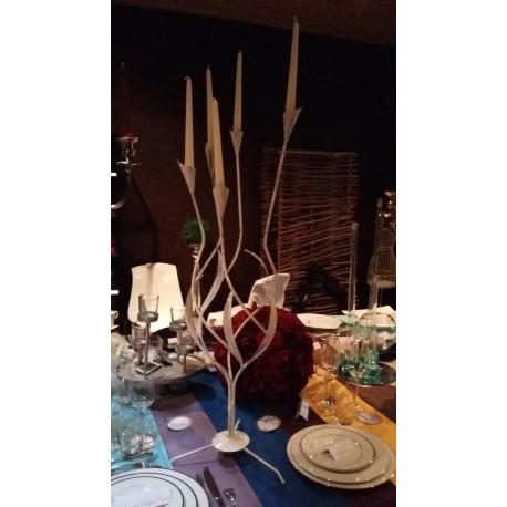 chandelier romantique 5 feux