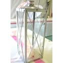 Lanterne métal zen