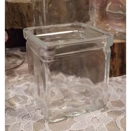 Location cubes en verre vintage 2 tailles