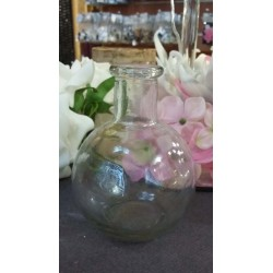 Location fiole ronde à poser en verre