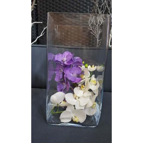 Location vase carre 40cm