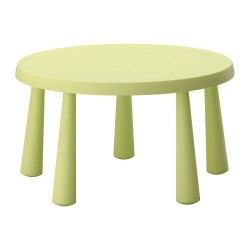 Location table enfant ronde pvc